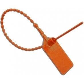 Kel Tie Security Seal Orange Numbered 1 to 1000 (Pack of 1000)