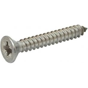 Stainless Steel Countersunk Pozi Self Tapping Screw