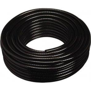 Black Braided PVC Hose 10mm x 15mm x 30m