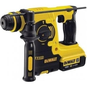 Dewalt SDS Plus Rotary Hammer Drill Kit DCH253M2 (with Charger and 2 x 4.0Ah Batteries in Kit Box)