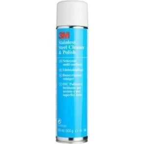 3M Stainless Steel Cleaner and Polish Aerosol 600ml