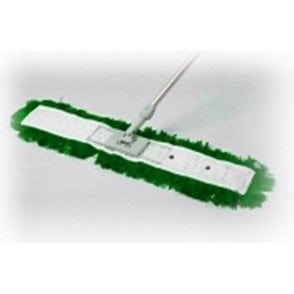 Straight Green Dry Mop 80cm