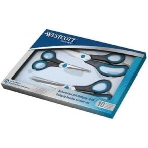 Westcott Soft Grip Scissors (Pack of 3)