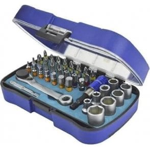 Faithfull Screwdriver Bit and Socket Set (42 Piece)