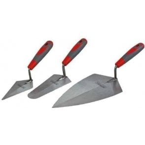 Faithfull Soft Grip Trowel Set (3 Piece)
