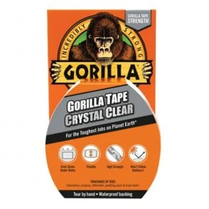 Gorilla Tape Crystal Clear 48mm x 16.4m