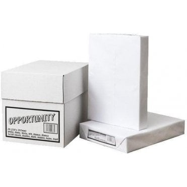 Opportunity Copier Paper White A4 210mm x 297mm (Pack of 5 x 500 Sheets)