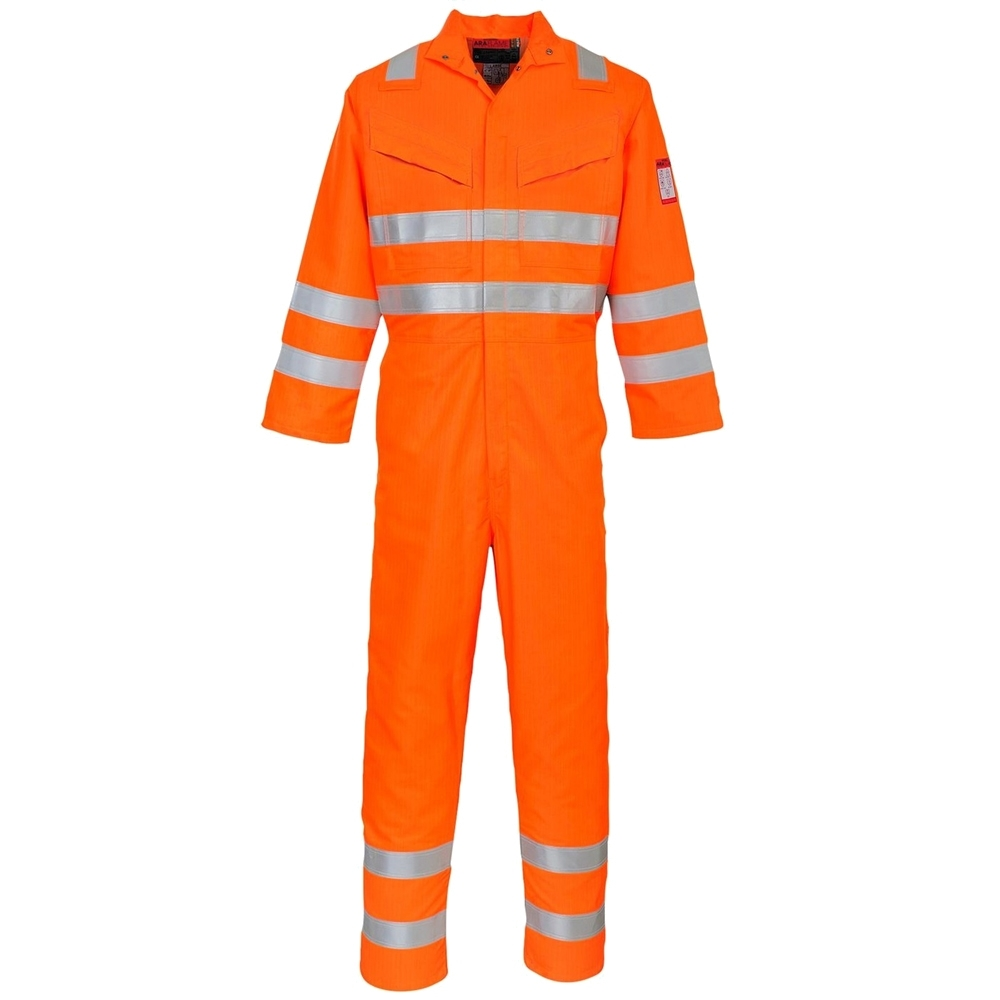 1eee0b9a5081 Portwest GO RT Hi Visibility Araflame FR AS Multi Coverall (AF91)