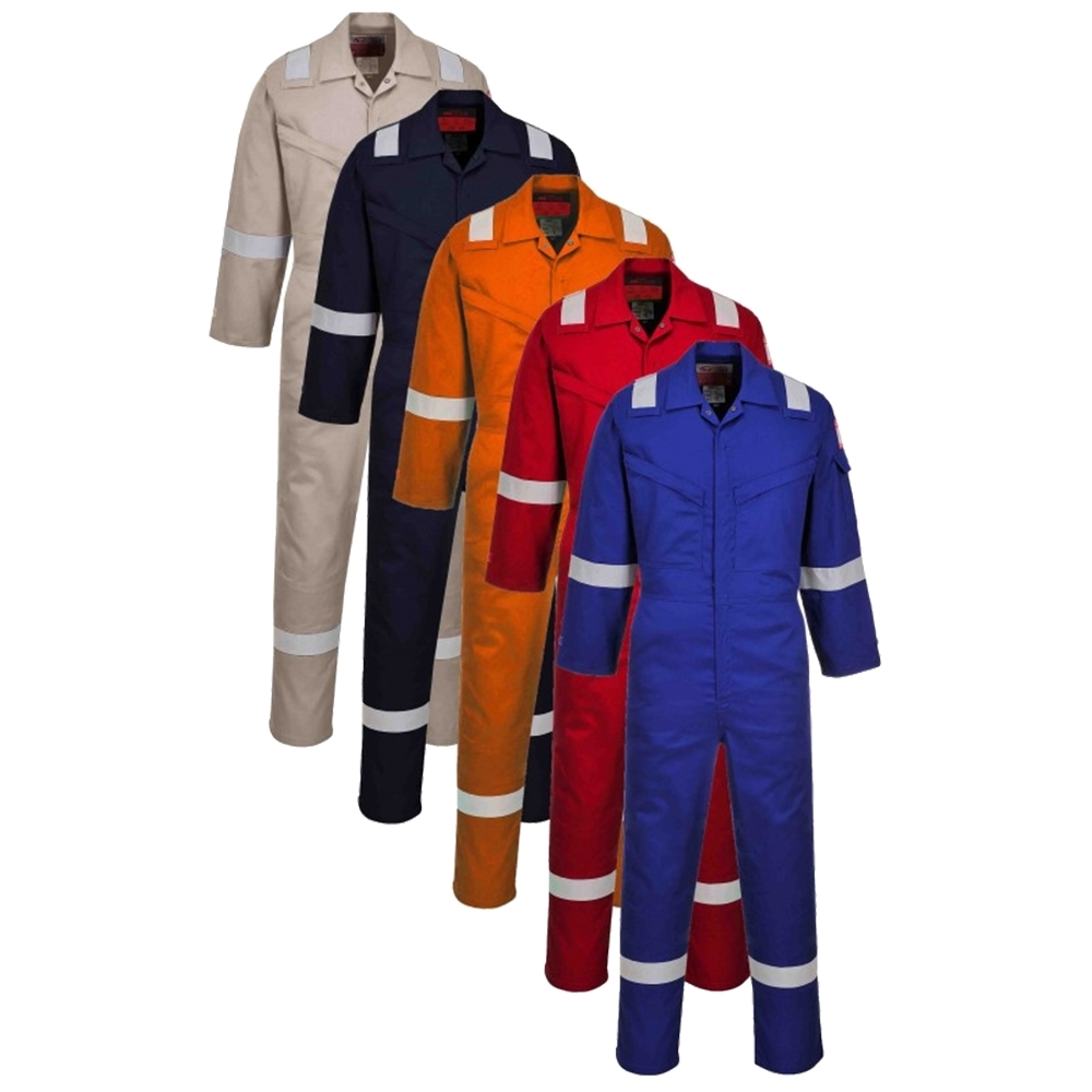 14536b71c90a Portwest Araflame Silver Coverall (AF73)