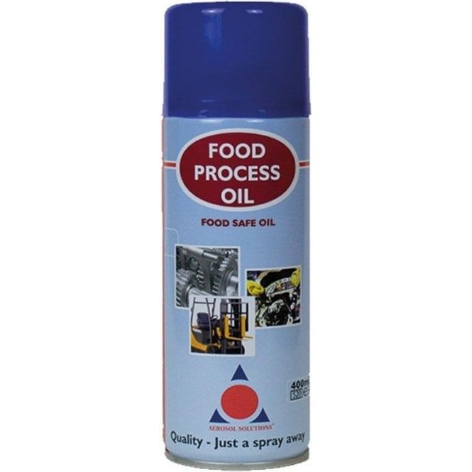 Aerosol Solutions Food Process Oil 400ml