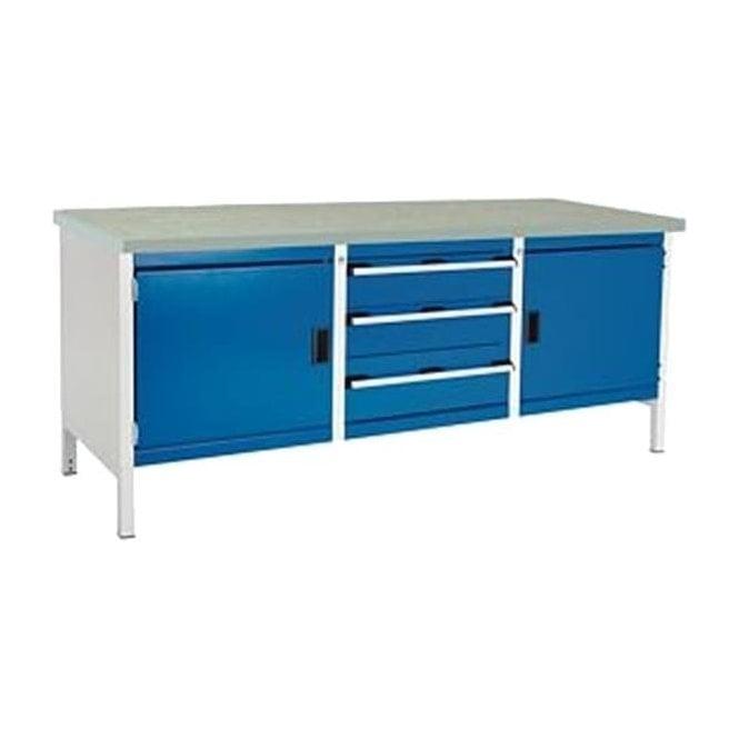Brilliant Bott Bott Cubio Storage Bench 2 Cupboards And 3 Drawers With Lino Top Inzonedesignstudio Interior Chair Design Inzonedesignstudiocom