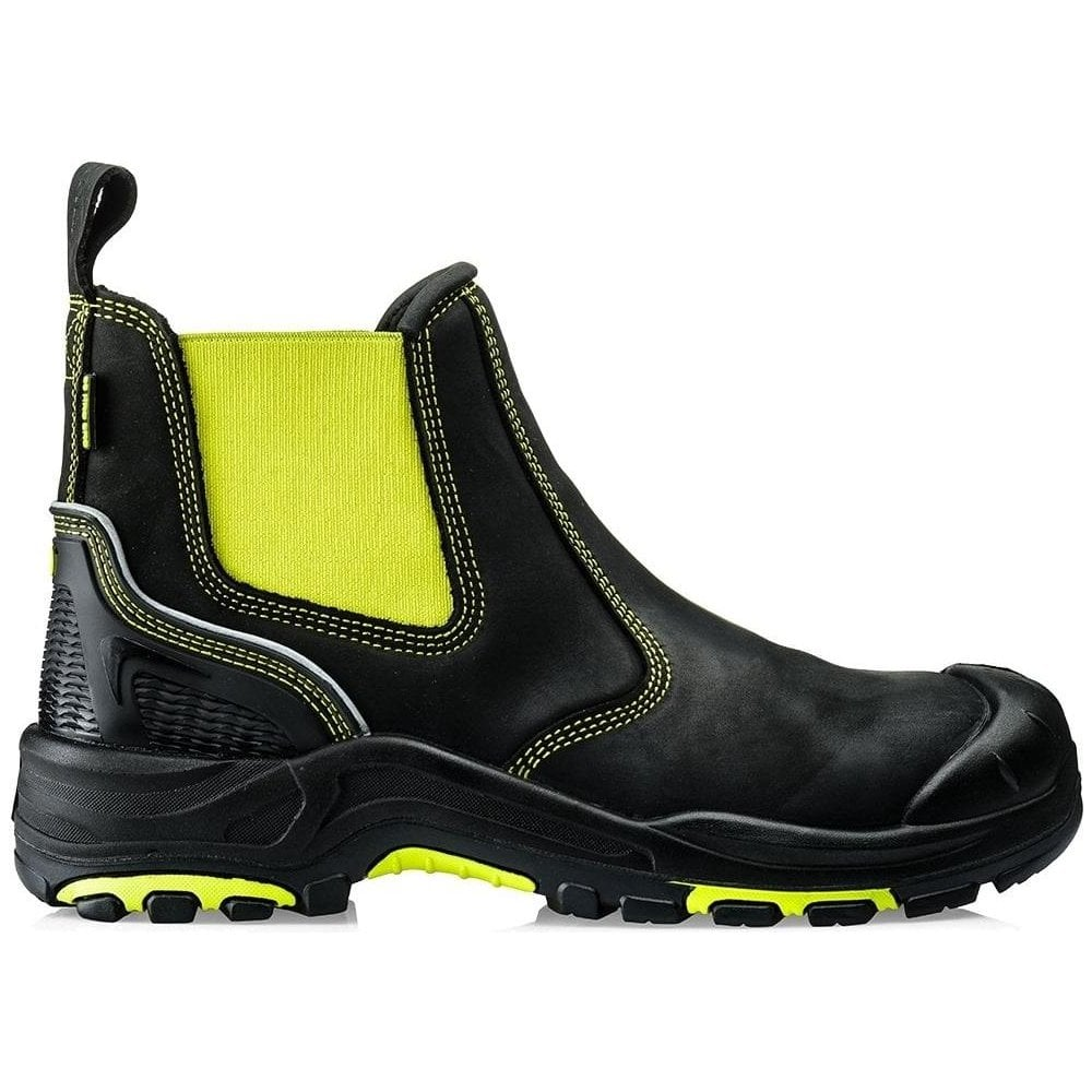 0b88ba61963 Buckler Buckz Viz Metal Free Safety Dealer Boots (BVIZ3)
