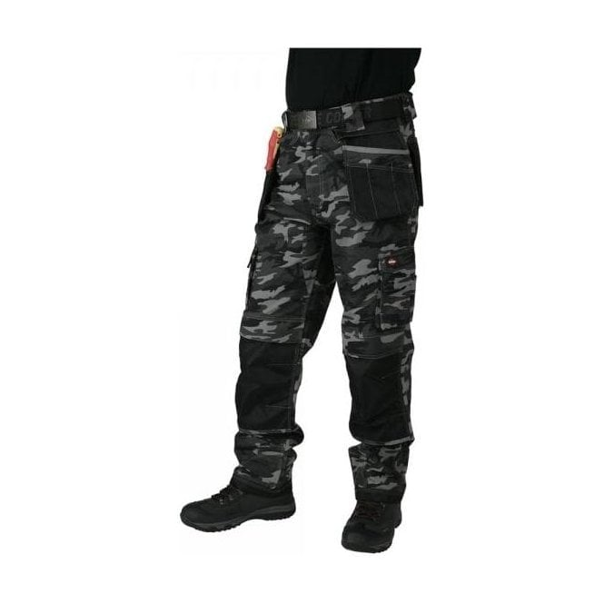 a9d764c410 Lee Cooper 210 Camo Print Canvas Trousers | RSIS