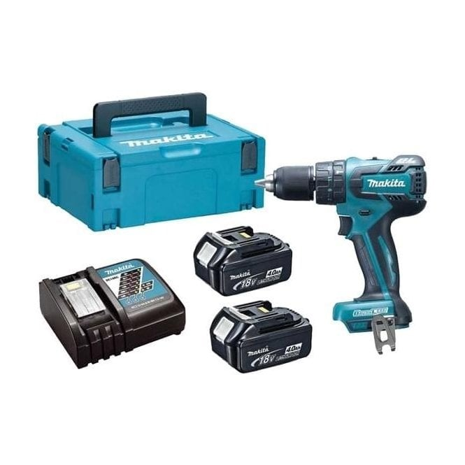 LXT Brushless Combi Drill DHP459RMJ (with Charger and 2 x 4Ah Batteries  with Case)