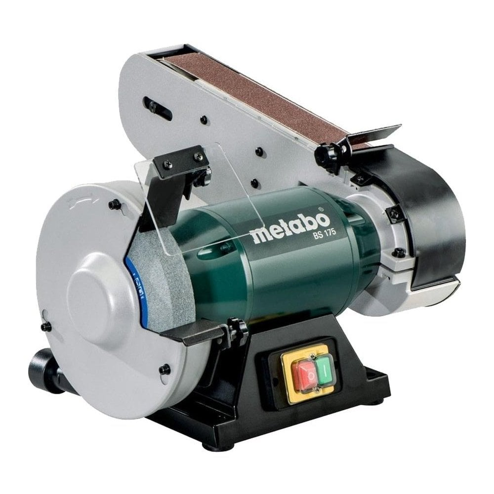 Fantastic Metabo Metabo Combi Bench Belt Sander And Grinder Bs 175 240V Gmtry Best Dining Table And Chair Ideas Images Gmtryco
