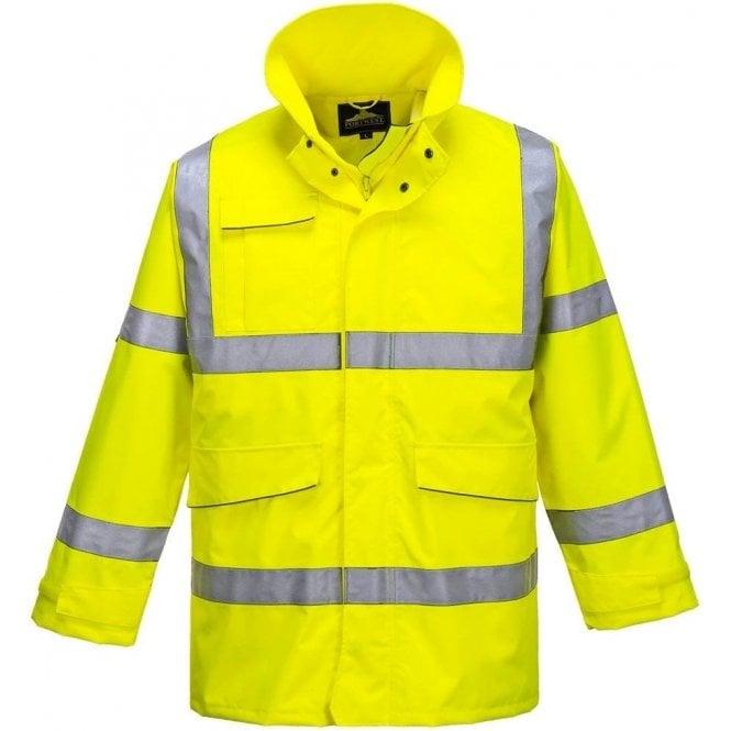 EN20471 Class 2 Small Blackrock BHZEVO Orange High Visibility Executive Waistcoat
