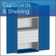 Cupboards and Shelving